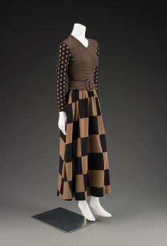 fashionsfromhistory:  Dress Rudi Gernreich 1971 IMA