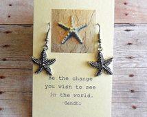 Starfish Story Earrings