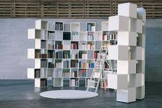 libreria divisorio curvo