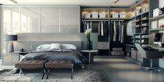 Stylish bedroom makeover