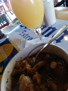 Brunch at El Toritos Foster City..mimosas and menudo are a combo..lol