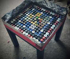 IKEA Hackers: Lack Bottlecap Table