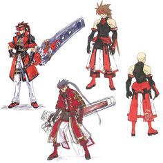 Sol Costume Concept from Guilty Gear 2: Overture