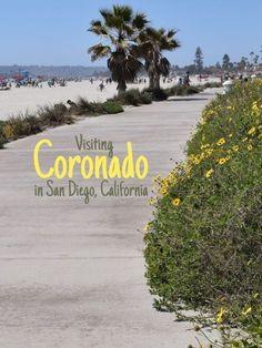 Coronado San Diego California - Travel San Diego - Ideas of Travel San Diego Coronado Beach, Coronado Island, Hotel Del Coronado, San Diego City, San Diego Beach, San Diego Houses, Pacific Beach San Diego, San Diego Vacation, San Diego Travel