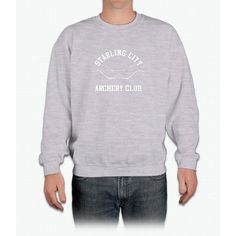 Starling City Archery Club – Arrow, Ollie Queen Crewneck Sweatshirt