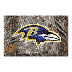 Baltimore Ravens Camo Entry Floor Mat
