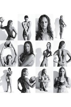 USA Women's Water Polo Team: part of a series done by ESPN. maybe Olympic athletes will competes as they did in ancient Greece? Women's Water Polo, Rugby Feminin, Body Issues, Olympic Athletes, Team Pictures, Sport Body, Athletic Women, Female Athletes, Black And White