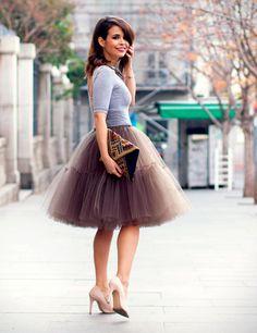 Falda de tul+camiseta