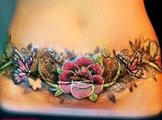 tummy tuck tattoos - Yahoo Search Results Yahoo Image Search Results, - - liposuction plastic surgery Lower Belly Tattoos, Stomach Tattoos Women, Sexy Tattoos For Women, Waist Tattoos, Best Cover Up Tattoos, Tattoos To Cover Scars, Cover Tattoo, Girly Tattoos, Body Art Tattoos