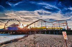 Santa Monica Pier by