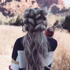 Wie Dutch Braid Video Tutorials & Fab Frisuren - My list of women's hairstyles French Braid Hairstyles, Box Braids Hairstyles, Summer Hairstyles, Pretty Hairstyles, Prom Hairstyles, Hairstyle Hacks, Hairstyles Videos, Hairstyle Tutorials, Blonde Hairstyles