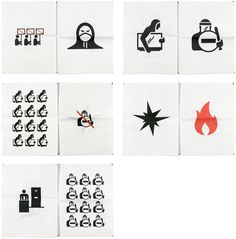 England's Burning is a pictographic narrative of the English riots as they unfolded. From the initial shooting of Mark Duggan through to the stern sentencing — all told without words.