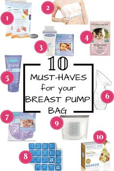 what to put in breast pump bag