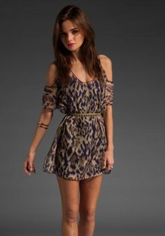 LOVERS + FRIENDS Weekend Tunic in Mixed Purple at Revolve Clothing