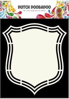 PRE-ORDER 3 - Dutch Doobadoo - Shape Art - Shield 2