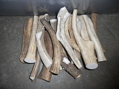 1 POUND of Deer and Elk Antler Dog Chew Toys- Pick your Size on Etsy, $18.99