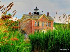 Lighthouse turned bed and breakfast in NY. Too bad it's booked out to 2012. =(