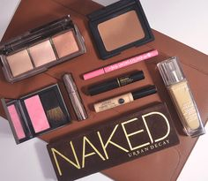 Natural makeup look, makeup collection, product photography, review, beauty blog