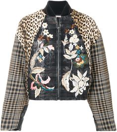 Antonio Marras patchwork bomber jacket. Bomber jacket fashions. I'm an affiliate marketer. When you click on a link or buy from the retailer, I earn a commission.