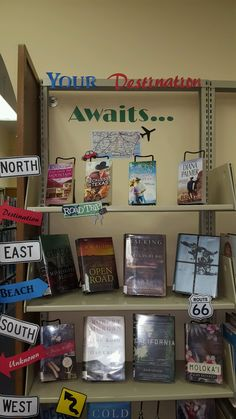 Decorations:Diy 12 comic display in decoration super awesome photo book ideas your destination awaits Library Book Displays, Library Books, Library Ideas, Travel Couple Quotes, Travel Journal Scrapbook, Sweet Potatoes For Dogs, Clipart Black And White, Swedish Recipes, Best Homemade Dog Food
