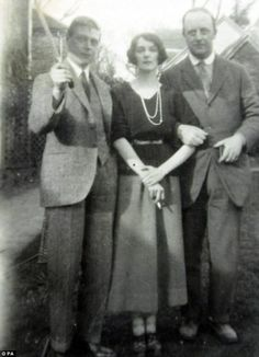 Lovers: King Edward VIII, left, with his mistress Freda and her husband Liberal MP William Dudley-Ward