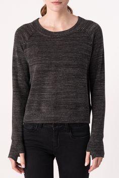 Sweatshirt with Thumbhole