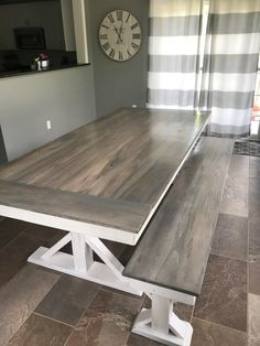 Big dining-room sized farmhouse trestle X table hand made using a mix of reclaimed barn wood and rough cut hard woods. Wooden Whale Workshop Custom Woodwork, Butler, PA ready to ship and custom woodwork.Unique and beautiful. Great prices.