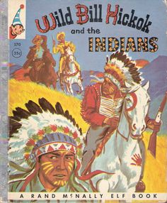 Wild Bill Hickok and the Indians Vintage by MyLittleBookGarden