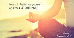Prosperity of Life | Rachel Krider | Shane Krider | Personal Development | Success Education | Inspiration | Graphic Design | Quote | Future