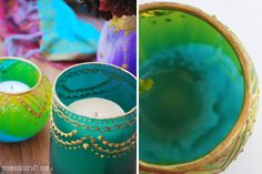 Diy-project-how-to-make-moroccan-henna-home-decor-glass-jar-candle-holders-votive-lantern-upcycled-gift