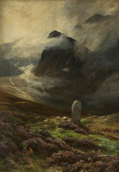 Ossian's Grave by John MacWhirter Salford Museum & Art Gallery Oil on canvas, 207 x 146 cm