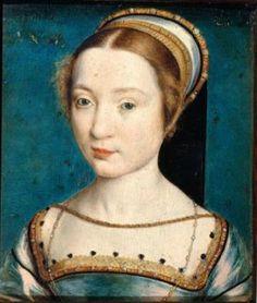 "Corneille de Lyon after ""Claude of France"" (wife of Francis I), Anne Boleyn served as her maid of honour for nearly seven years, France. French History, Tudor History, European History, Mary Boleyn, Anne Boleyn, François Ii, Lyon, Charles Viii, Henry Viii"