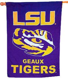 Geaux Tigers! LSU! LSU!