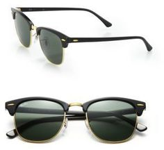 Ray-Ban Iconic Clubmaster Sunglasses