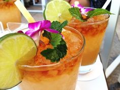 """Mai Tai translates from Tahitian to mean """"Out of this World"""" and it is a fitting description for this fun cocktail."""