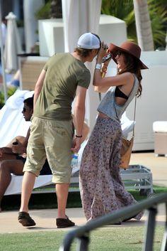 Tom Felton - Tom Felton And Jade Olivia Make Some Magic In Miami
