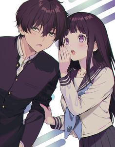 Anime, manga, and video game fan-art artworks from Pixiv (ピクシブ) — a Japanese online community for artists. pixiv - It's fun drawing! Anime Neko, Kawaii Anime, Manga Anime, Film Manga, Fanarts Anime, Anime Characters, Anime Couples Drawings, Cute Anime Couples, Couple Manga