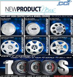 Back in Stock! Center Caps & Wheel Covers  Call us today 800-999-8987