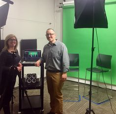 Yesterday's video shoot on the future of #healthcare is off to the editing stages. {Not pictured: the talent}. #creativegurus #videomarketing #creativesuite