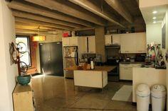Cool studio apartment kitchen