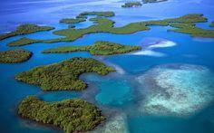 Mangrove Islands, Belize