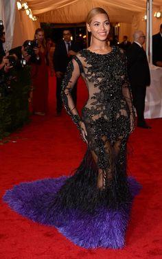 MET Ball 2012 red carpet arrivals: Beyoncé