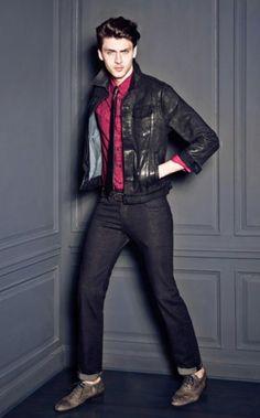Guess Favorite Silviu Tolu Returns for their Fall/Winter 2012 Lookbook