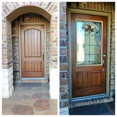 Front Door Makeover Zabitat installed a half light Jacinto door ...