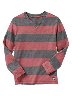 Striped end-on-end T | Gap