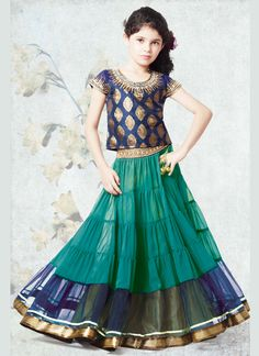 Kids Dress : Buy Kids Dresses Online Shopping At Best Prices Indian Dresses, Indian Outfits, Indian Clothes, Kids Outfits Girls, Girl Outfits, Little Girl Dresses, Girls Dresses, Lehnga Dress, Lehenga Choli