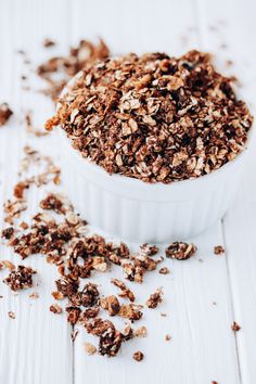 coffee cake granola