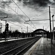 #morning #walking #friday #station #train #trainstation #rail #sky #skyporn #whiteandblack #clouds #cloudporn #milano #igersmilano #milanodavedere #milanocityofficial #lovelymilano #loves_milano #picsofmi #visitmilano #whywelovemilano #milanoaplacetoBe #milanostateofmind #igerslombardia #ig_lombardia #ig_milan #photooftheday #webstagram #shotoftheday #editoftheday by omaro80