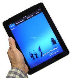 Hallway Monitor app for school administrators.