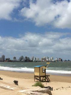 ***Playa Mansa de Punta del Este. Uruguay.